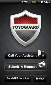 Toyoguard apk screenshot