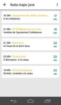 Festa Major Calldetenes 2016 apk screenshot
