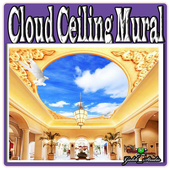 Cloud Ceiling Mural icon