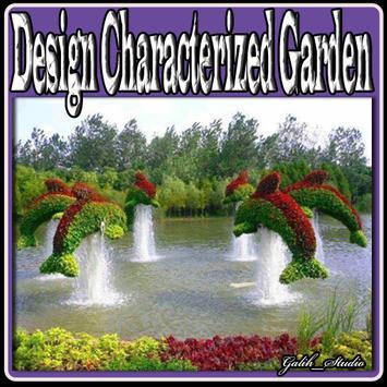 Design Characterized Garden poster