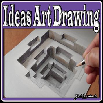 Ideas Art Drawing poster