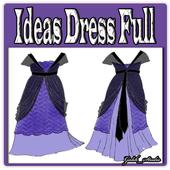 Ideas Dress Full icon