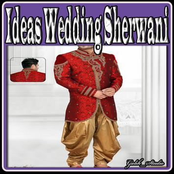 Ideas Wedding Sherwani poster