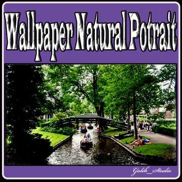 Wallpaper Natural Potrait poster