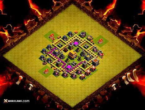 TOP Maps Clash of Clans 2017 apk screenshot