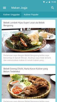 MakanJogja apk screenshot