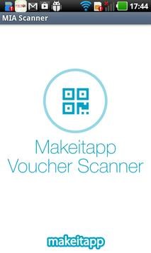 MakeItApp Voucher Scanner poster