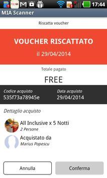 MakeItApp Voucher Scanner apk screenshot