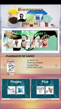 HORAIRES MÉDECINS GUYANE apk screenshot