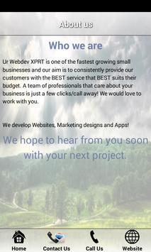 Ur Webdev XPRT apk screenshot