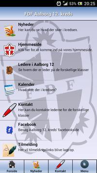 FDF Aalborg 12. kreds poster
