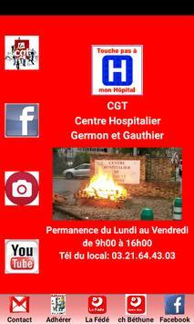 CGT CH Béthune poster