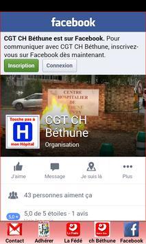 CGT CH Béthune apk screenshot