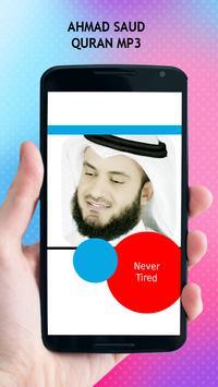 Ahmad Saud Quran MP3 apk screenshot