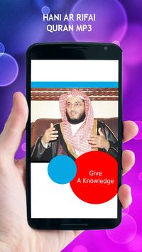 Hani Ar Rifai Quran MP3 apk screenshot