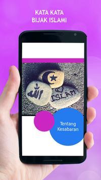 Kata Kata Bijak Islami poster