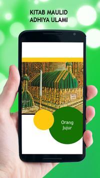 Kitab Maulid Adhiya Ulami apk screenshot