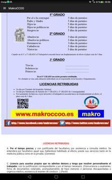 Makro CCOO apk screenshot