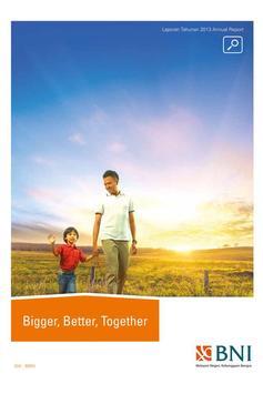 BNI Annual Report 2013 poster