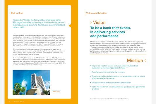 BNI Annual Report 2013 apk screenshot