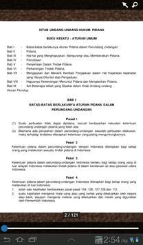 Undang-Undang Hukum Pidana apk screenshot