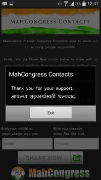 MahCongress Contacts apk screenshot