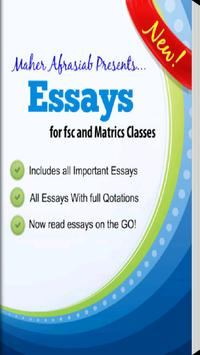 English Essays - Pakistan poster