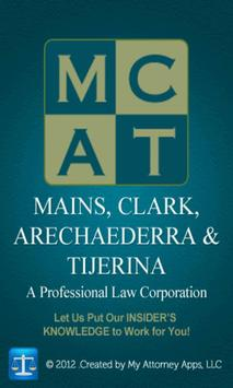 Mains Law app by Mains, Clark poster