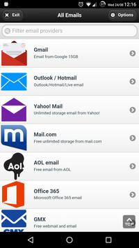 All Email Providers apk screenshot