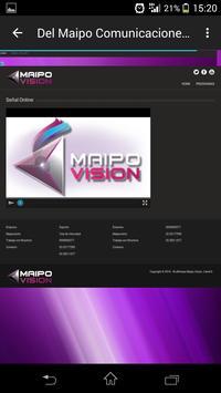 Canal Maipovision apk screenshot