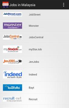 Jobs in Malaysia, Kuala Lumpur poster