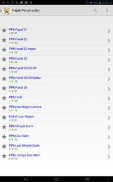 Kode MAP dan Setoran Pajak apk screenshot