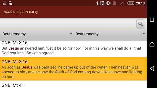 KJV Holy Bible apk screenshot