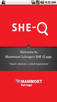 SHE-Q for Mammoet Salvage poster