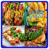 Chicken Recipes for Dinner icon