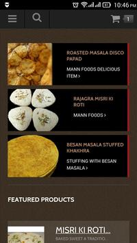 Mann Foods apk screenshot