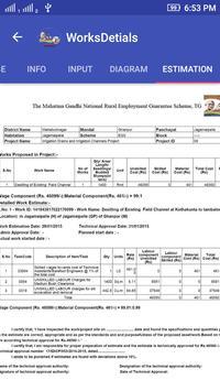 MGNREGA Telangana State apk screenshot