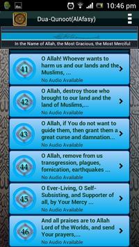 Dua-Qunoot (LITE) AlAfasy apk screenshot