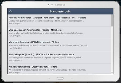 Manchester Jobs apk screenshot