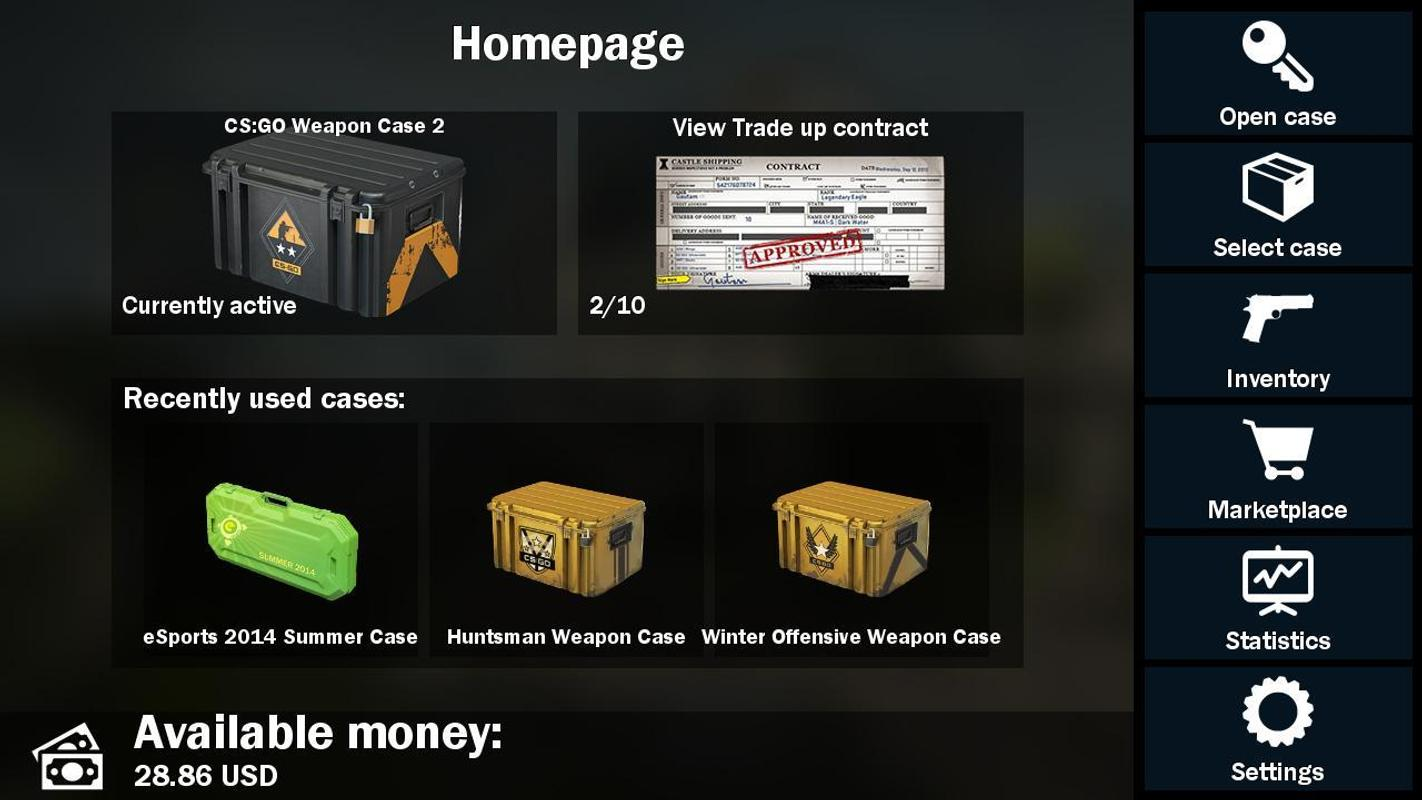 how to get weapons in cs go free