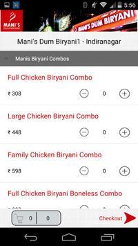 Mani's Dum Biryani apk screenshot