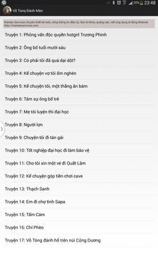 Võ Tonq Đánh Mèo apk screenshot