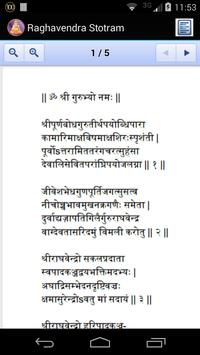 Raghavendra Stotram apk screenshot