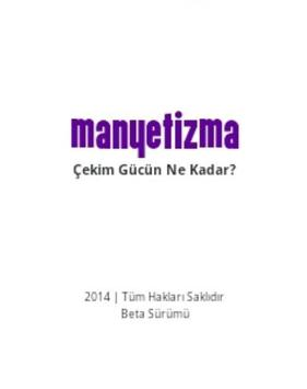 Manyetizma poster