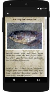 Panduan Cara Budidaya Ikan apk screenshot