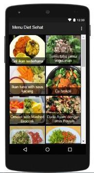 Menu Diet Sehat apk screenshot