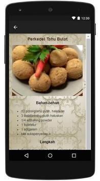 Resep Tahu Bulat Nikmat apk screenshot