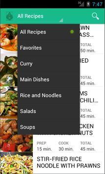 Thai Food Recipes apk screenshot