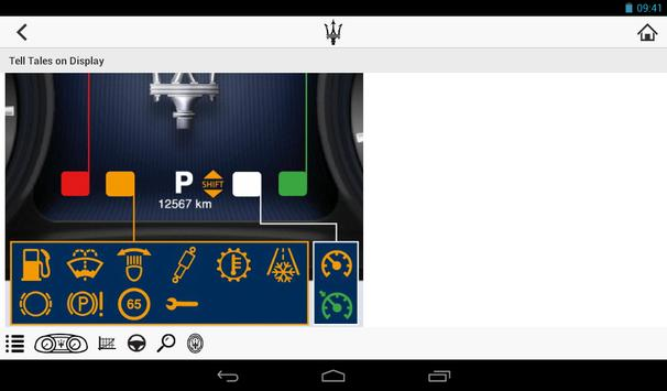 Maserati Service Tablet apk screenshot