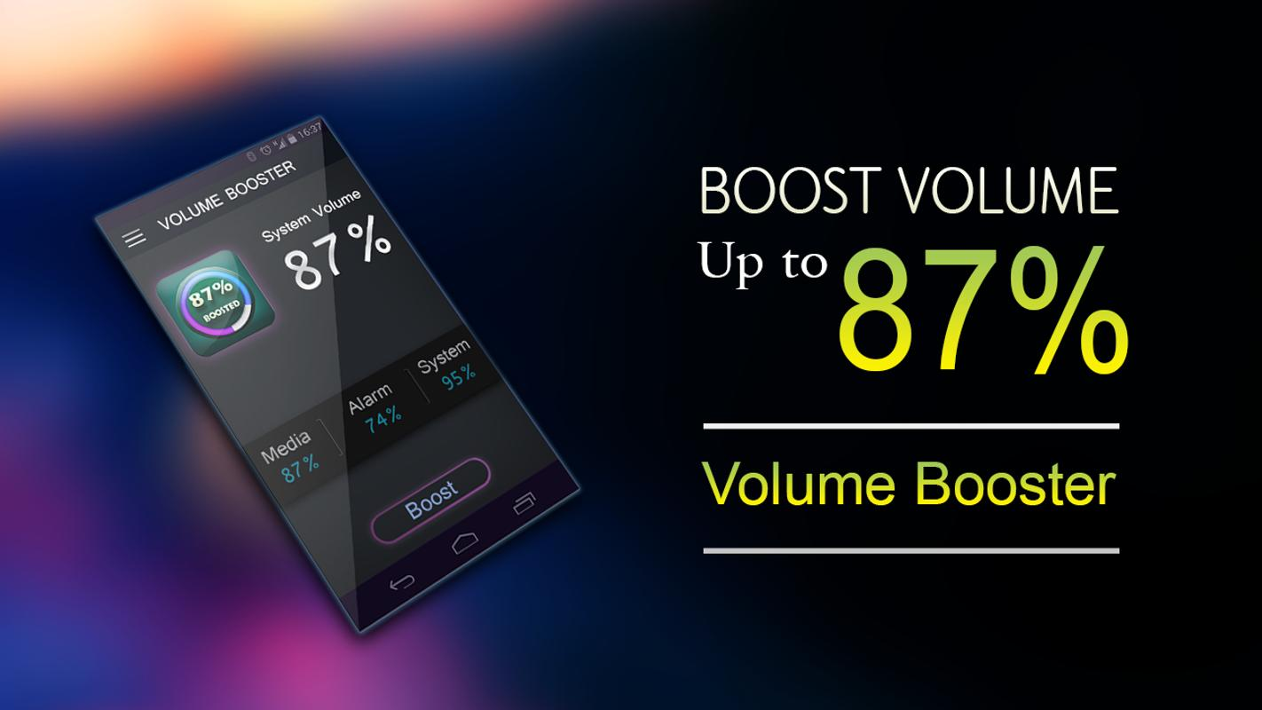 Phone Phone Volume Booster Android mobile volume booster live apk download free music audio app screenshot
